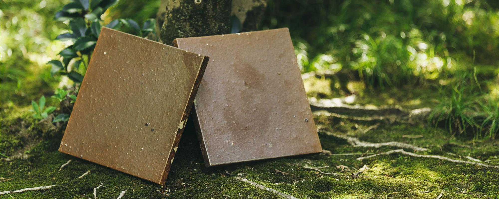 kernは、趣のある陶板タイルを製造販売しています